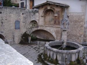 Fontana monumentale di Fontecchio