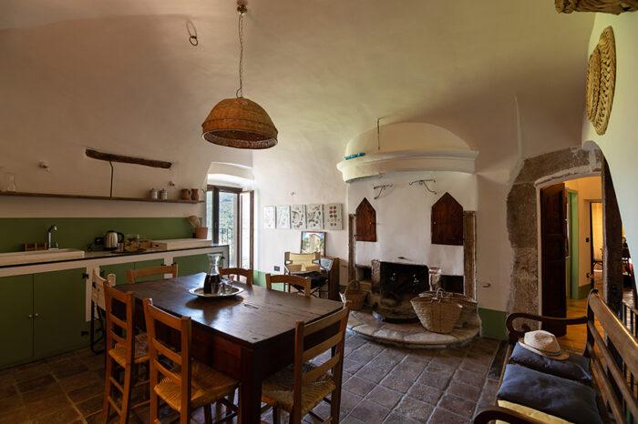 Casa Grande, Cucina e Soggiorno 1