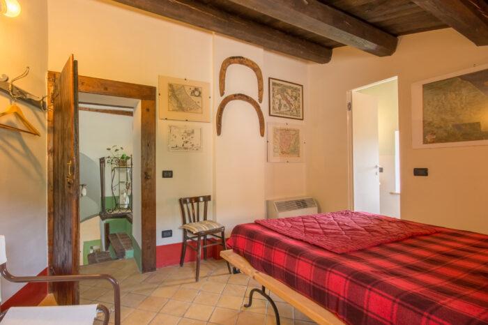 Casa Grande, La Confraternita, Camera da letto