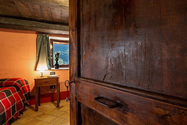 Casa Grande, La Confraternita, Camera letto