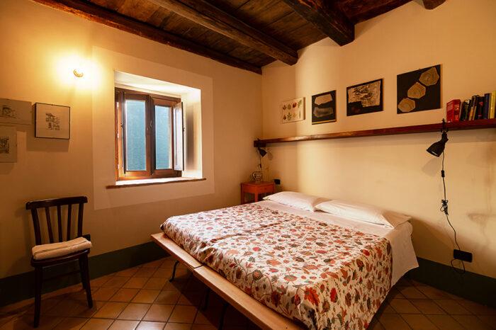 Casa degli Archi - La camera da letto