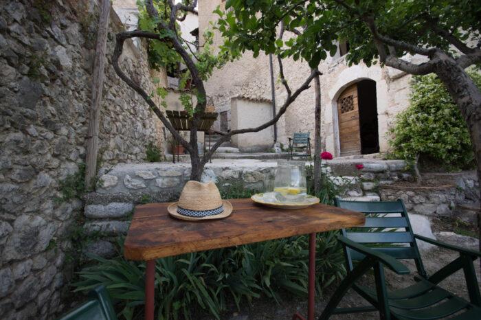Il giardino per una fantastica colazione