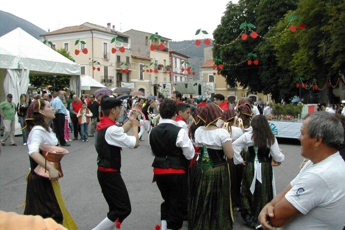 Sagra ciliegie Raiano in Abruzzo