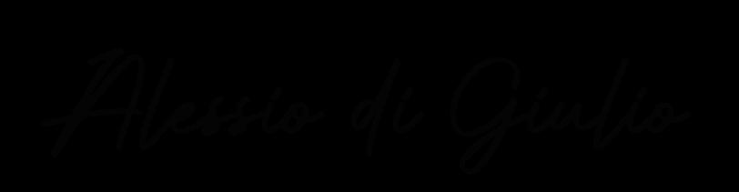 Firma Alessio Di Giulio